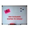 Whiteboard 30x45cm set foto