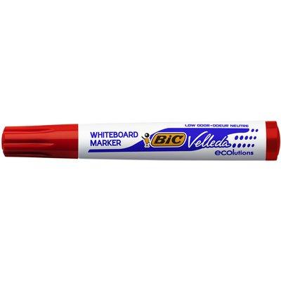 Viltstift Bic 1701 whiteboard rond rood 1.4mm
