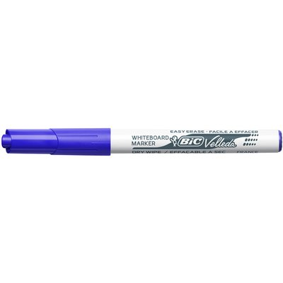 Viltstift Bic 1741 whiteboard rond blauw 1.4mm