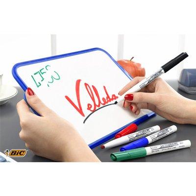 Viltstift Bic 1748 whiteboard rond ass 1.4mm blister à 8st