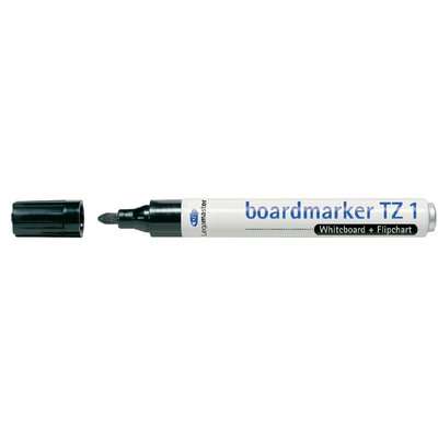 Viltstift Legamaster TZ1 whiteboard rond zwart 1.5-3mm