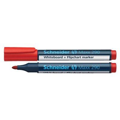 Viltstift Schneider 290 whiteboard rond rood 2-3mm
